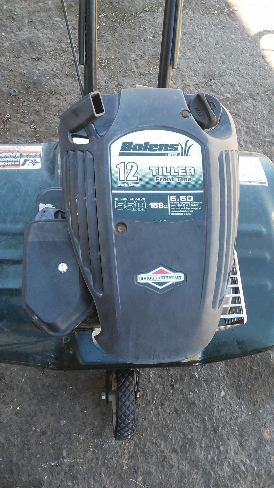Bolens Model 21A-250H065 Tiller Carburetor