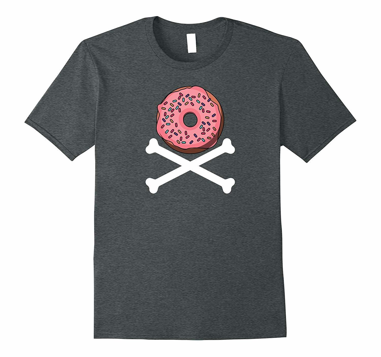 New Shirts - Donut and Crossbones T-Shirt Dream Food Men