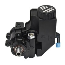 Power Steering Pump GM Aluminum Type II with Integral Reservoir (Black) image 1