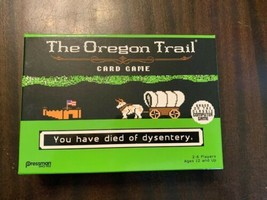 The Oregon Trail Card Game - Opened but Unsealed! Minty! 2017 Target Exc... - $12.20