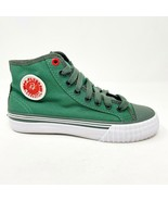 PF Flyers Center Hi Reis Green White Kids Casual Shoes PK12OH3G - $39.95