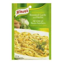 12X Knorr Roasted Garlic & Herbs Pasta Seasoning 22g Each Canada FRESH Fast Ship - $51.01