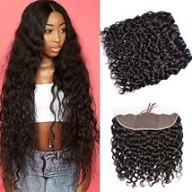Water Wave Bundles With Closure Human Hair Bundles With Frontal Closure ... - $229.06