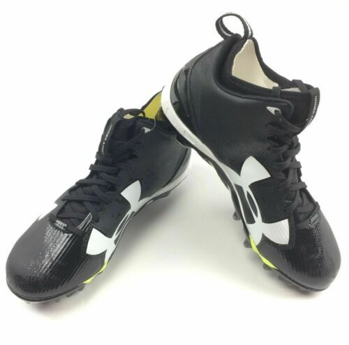 Primary image for Under Armour Spine Fierce MC Football Cleat  Men's Shoe Size 9 Black 1269740