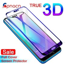 GPNACN 3D Full Cover Tempered Glass on the For Huawei Honor 9 Lite V10 V9 Play S - $4.68+