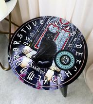 Sacred Circle Wicca Tarots Black Cat Ouija Spirit Board W/ Glass Top Tab... - $59.99