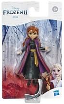 "Disney Frozen II  *ANNA* 4"" Mini Figure Doll With Removable Cape"