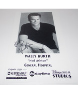 Wally Kurth Autograph Reprint Photo 9x6 General Hospital 2002 Days Of Ou... - $9.99