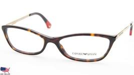 NEW Emporio Armani EA 3014 5026 DARK HAVANA EYEGLASSES FRAME 54-16-140 B... - $37.13