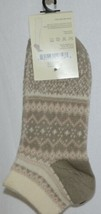 Simply Noelle Cream Blush Light Gray Ankle Socks One Size Fits Most image 2