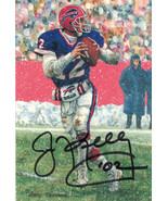 Jim Kelly Autographed Buffalo Bills GLAC Black w/HOF - $109.00