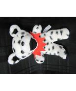 Steven Smith Teddy Bear Plush Stuffed Animal Black White Polka Dot Spots... - $15.14