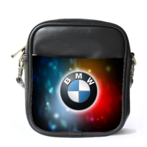 Sling Bag Leather Shoulder Bag BMW Logo Elegan Luxury Sport Car Design F... - $14.00