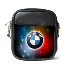 Sling Bag Leather Shoulder Bag BMW Logo Elegan Luxury Sport Car Design Fantasy A - $14.00