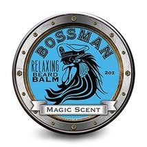 Bossman Relaxing Beard Balm - Nourish, Thicken and Strengthen Your Beard Magic