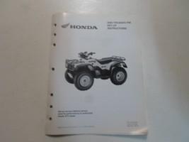 2004 Honda TRX450FE Fm Atv Set Up Instructions Manual Loose Leaf Factory Oem 04 - $13.45