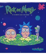 NEW SEALED 2021 OFFICIAL Rick and Morty16 Month Wall Calendar  - $9.49