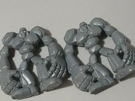 "1999 Monster Rancher 1.75"" Golem Calm Stance Mini Figure Playmates 2x - $15.84"