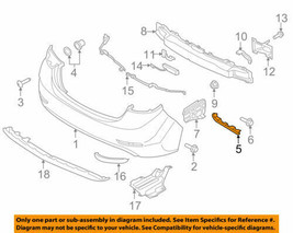 Rear Bumper-Side Bracket RH for 2011-2016 HYUNDAI Elantra 866143X000 OEM NOS - $13.91