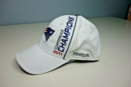 NFL New England Patriots Reebok 2011 Conference Champions Super Bowl XLVI Hat   - $9.75