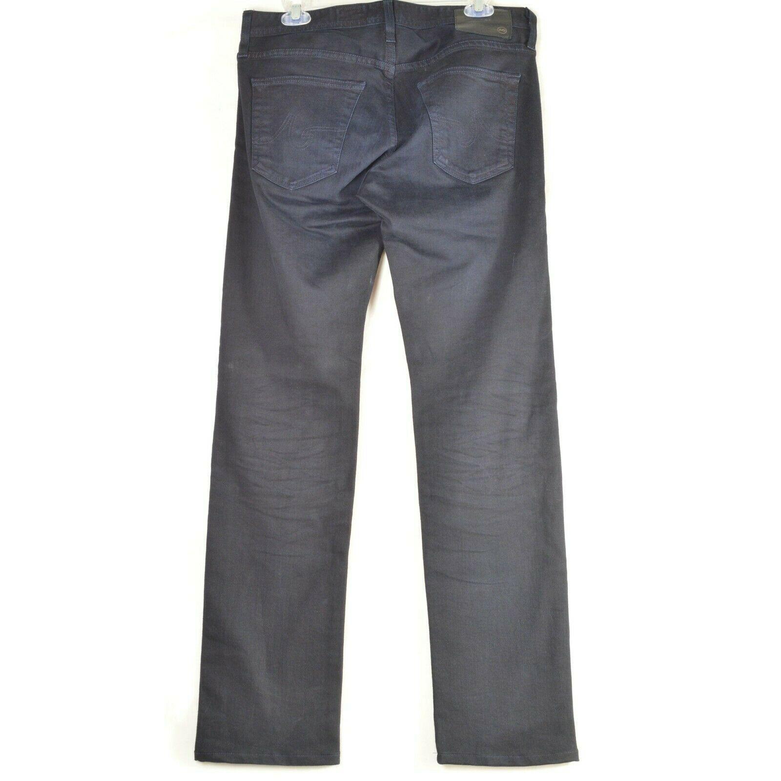 AG Adriano Goldschmied jeans 30 x 34 men Matchbox dark Slim Straight tall unique image 12