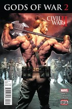 CIVIL WAR II GODS OF WAR #2 reg cover EST REL DATE 07/13/2016 - $3.99