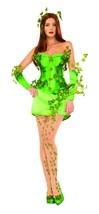 DC Comics Poison Ivy Deluxe Costume Green Medium - $150.08