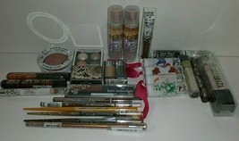 Hard Candy Eye Lip Face BROWN & GOLD Shades Makeup Lot of 24 Different Pieces - $30.84