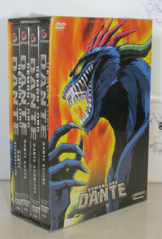 Demon Lord Dante Box Set DVD (Limited Edition) Brand NEW!