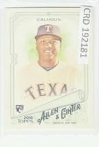 2018 Topps Allen & Ginter Hot Box Silver #255 Willie Calhoun RC 192181 - $1.86