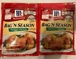 McCormick Bag 'N Season Cooking Bag & Seasoning Mix Chicken - 1.25 Oz - $9.89