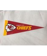 "Kansas City Chiefs New Mini 9"" Souvenir Miniature NFL Football Team Pennant - $4.26"