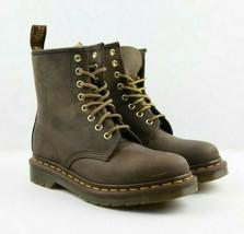 Unisex Dr. Martens Aztec 1460 Boot - Crazy Horse/Brown, Size Mens: 5\Wom... - $150.00