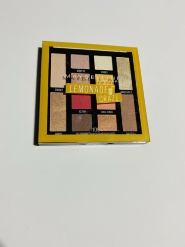 Primary image for MAYBELLINE Lemonade Craze Eyeshadow Palette 100