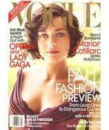 2010 Vogue Magazine Marion Cotillard Oprah Winfrey Lady Gaga Alexander M... - $23.78