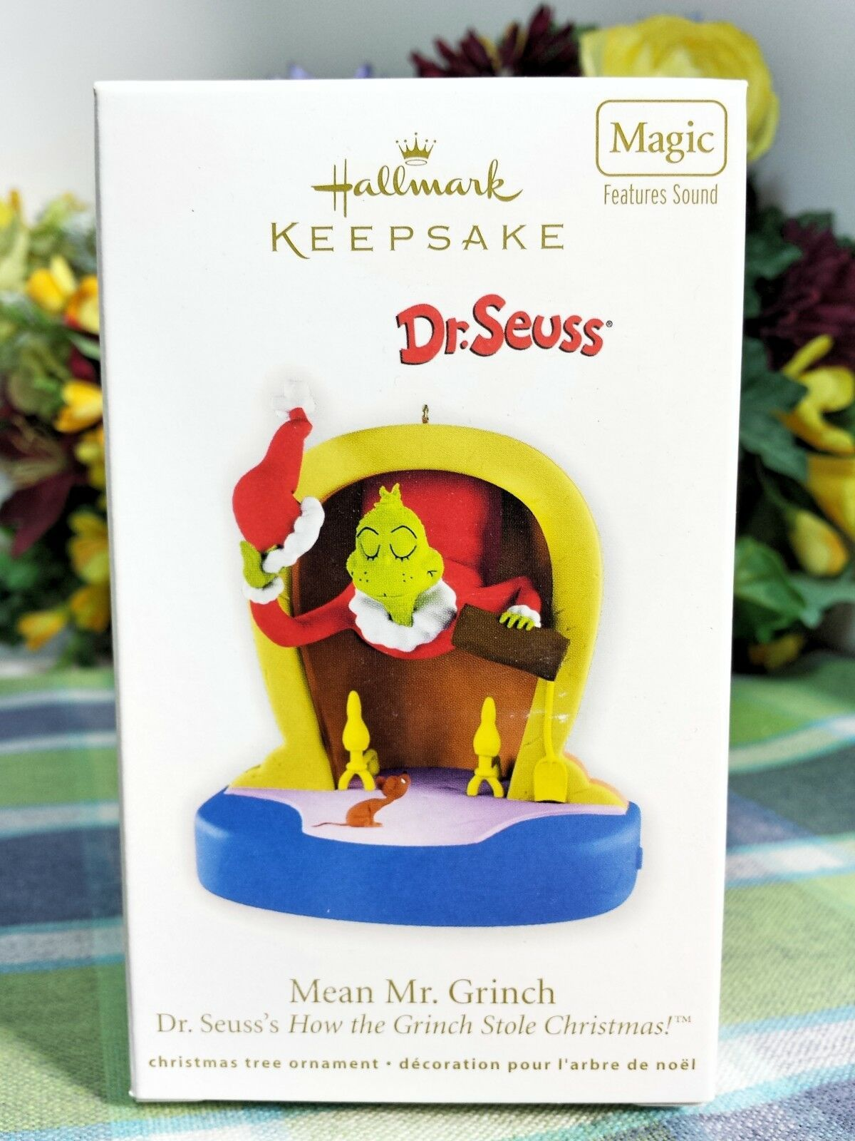 Primary image for Hallmark Grinch Mean Mr Grinch 2011 ornament