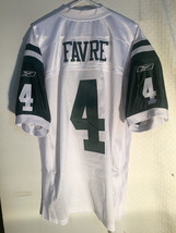 Reebok Authentic NFL Jersey New York Jets Brett Favre White sz 54 - $39.59