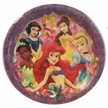 Disney Princess Dreams Dessert Plates 8 Per Package New - $5.89