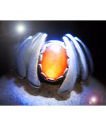 HAUNTED RING 7 MYSTICAL FIRES TRANSMUTE NEG TO POS MYSTICAL TREASURE MAGICK - $133,007.77