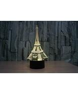 Phantom Lamps Eiffel Tower 3D LED Illusion Lamp - $29.35