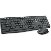 Logitech Keyboard & Mouse (Keyboard English Layout only) - USB Wireless ... - ₹3,125.09 INR