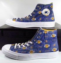 Converse LA Lakers Franchise Distressed Chuck Taylor 70s Hi Top Sneaker ... - $67.46