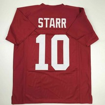 New BART STARR Alabama Red College Custom Stitched Football Jersey Size Men's XL - $49.99