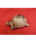 """2 5/8"""" Long, Navajo, Horsehair Pottery Turtle Figurine/Fettish/Totem Sig... - $24.99"""