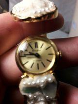 Vintage Crawford Ladies Bracelet Hidden Wind Up Watch Rare Victorian  21Jewel image 7