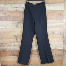 Jones New York Dress Pants Womens Side Zip Size S Black Ti21 - $8.41