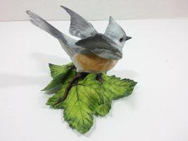 THE LENOX GARDEN BIRD COLLECTION Tufted Titmouse (Fine Porcelain 1986) image 5