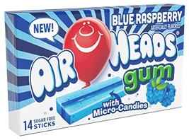 Airheads Candy Sugar-Free Chewing Gum with Xylitol, Blue Raspberry, Stocking Stu - $22.10