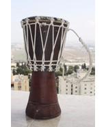 Large Handmade Wooden Djembe Darbuka Drum Midlle East Africa Music Instr... - $29.69