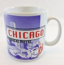 Starbucks Chicago Coffee Mug 1999 Buckingham Fountain Hancock Lincoln Pa... - $34.15